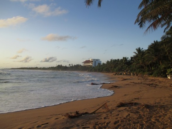 plage près de Bentota Sri Lanka