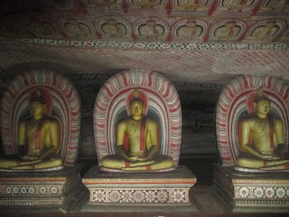 statues or Rock Temple