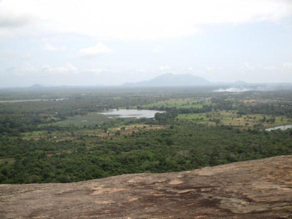 vue sur vallée depuis Pidurangala