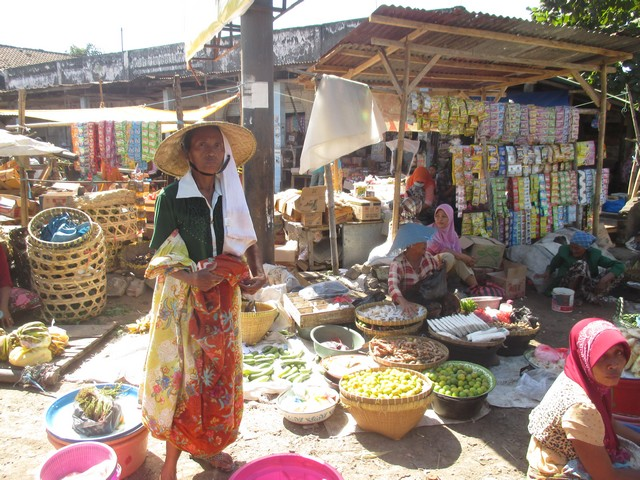 marché sud de Lombok