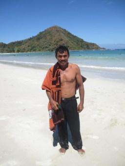 mannequin plage Selong Blanak