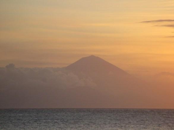 Volcan Agung Bali