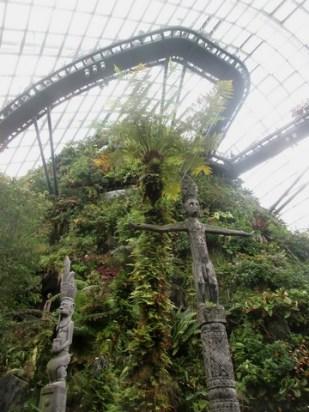 Cloud Forest et ses passerelles Singapour