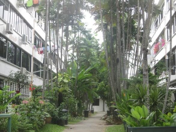allée quartier de Tiong Bahru Singapour