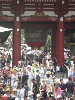 entrée temple Senso-Ji Tokyo