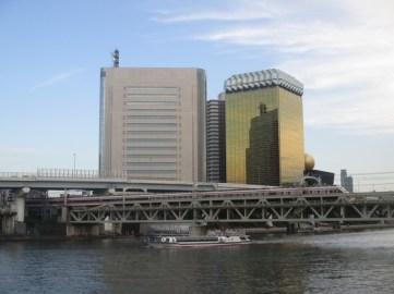rivière Asakusa Tokyo