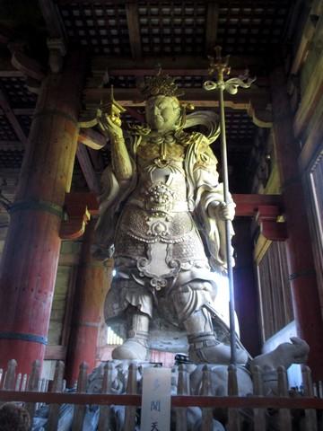 sculpture Todai-Ji Nara