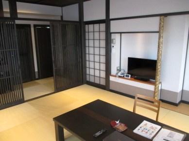 chambre ryokan Nara