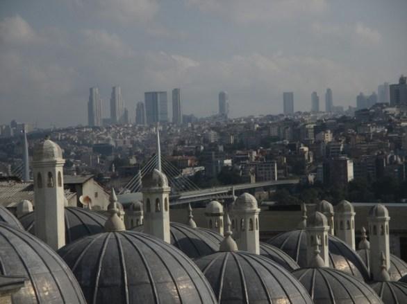 vue depuis mosquée Soliman le magnifique Istanbul