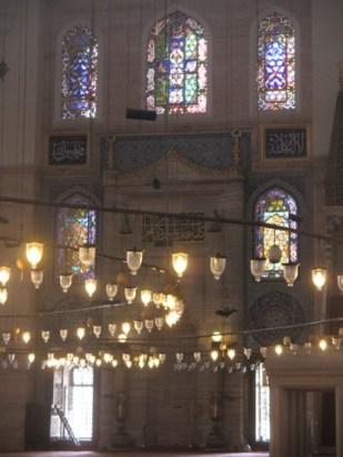 intérieur mosquée Soliman le magnifique Istanbul