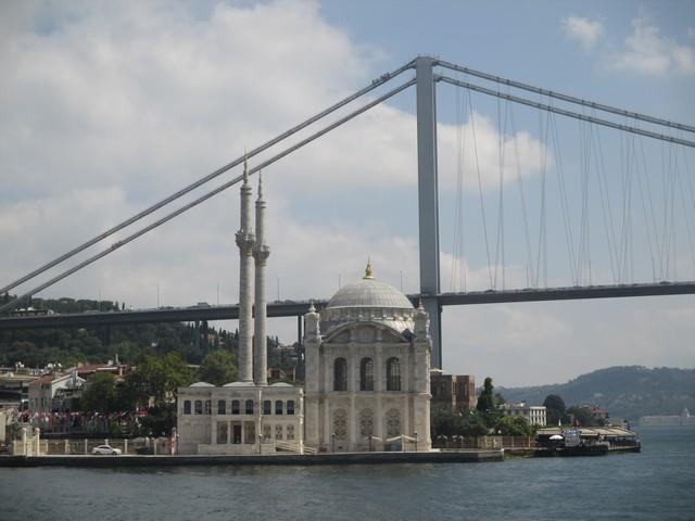premier pont Bosphore et mosquée Ortaköy