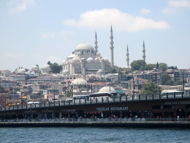 quartier historique Istanbul et pont de Galata