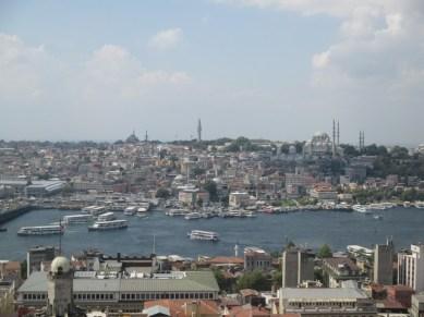 vue Istanbul depuis Tour de Galata