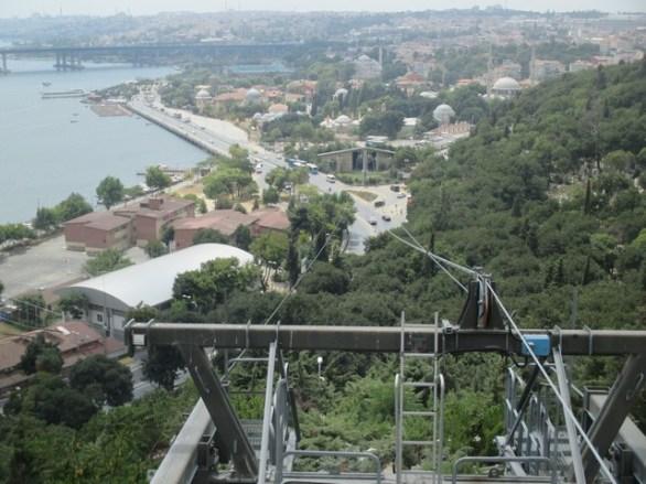 téléphérique café Pierre Loti Istanbul