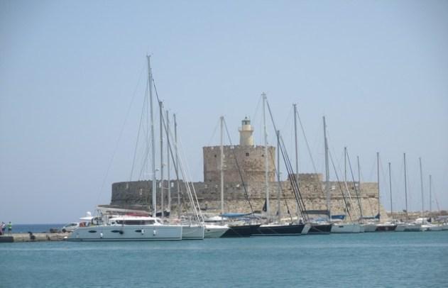 Fort saint Nicolas port de Mandraki Rhodes