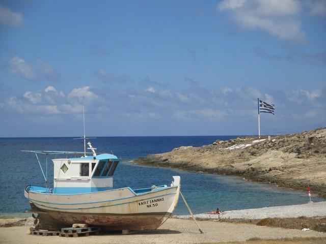 bateau échoué Kassos
