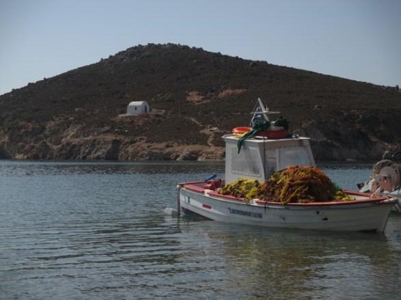 bateau de pêche Patmos