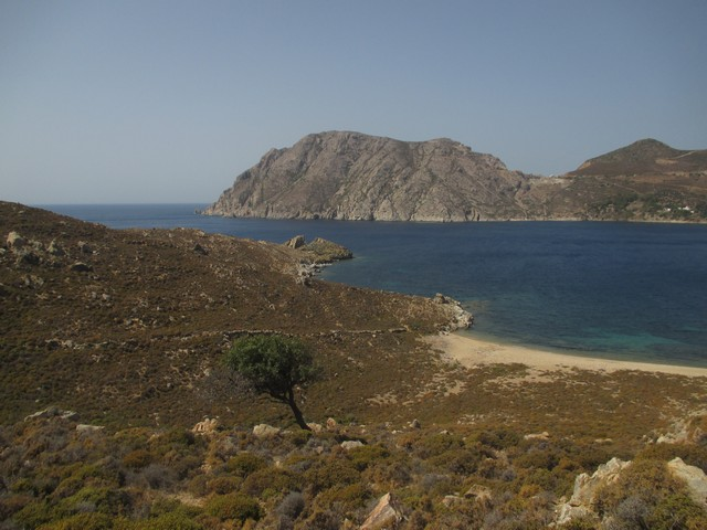 sentier plage Psili Ammos Patmos