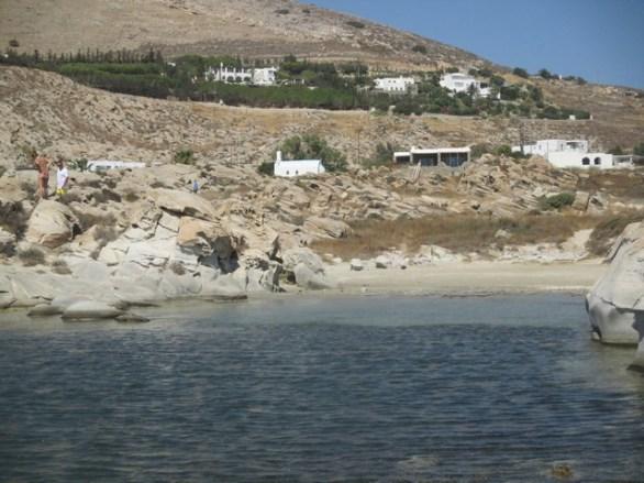 plage Kolimbithres Paros