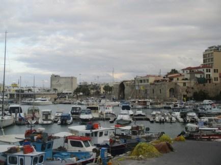 port d'Heraklion Crète
