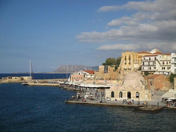 port vénitien Chania Crète
