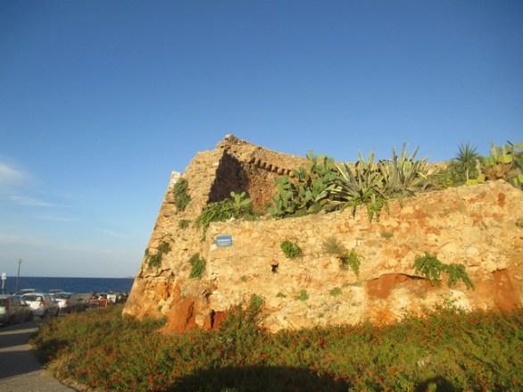 vestiges forteresse vénitienne Chania Crète