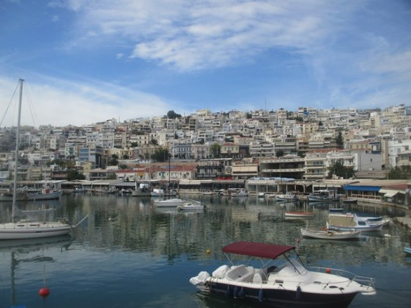 port de plaisance Le Pirée