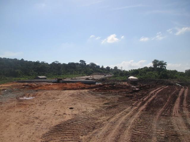 Route en travaux Phu Quoc