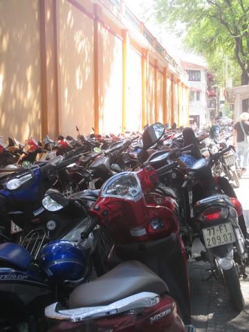 Parking de motos Saigon