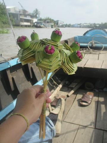 souvenir de la balade Delta du Mékong