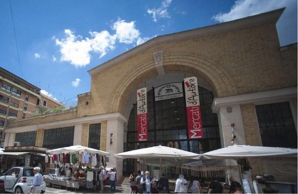 marché nomentano piazza Alessandria Rome