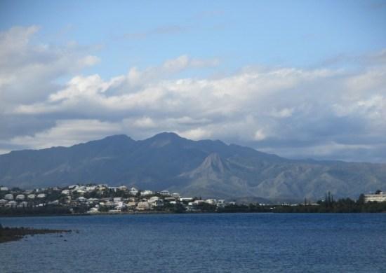 vue côte blanche, Nouméa