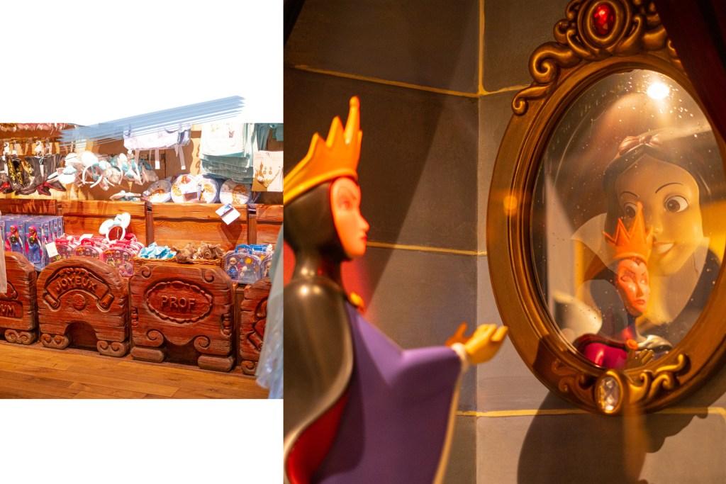 Boutique Blanche Neige et les sept nains