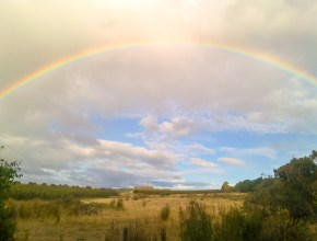 Photo arc-en-ciel Tasmanie
