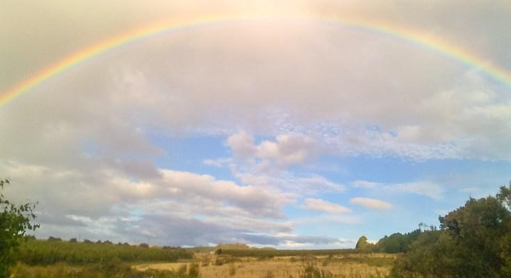 cielo Photo arcobaleno Tasmania