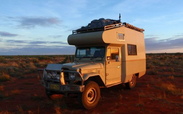 Photo camping-car en Australie