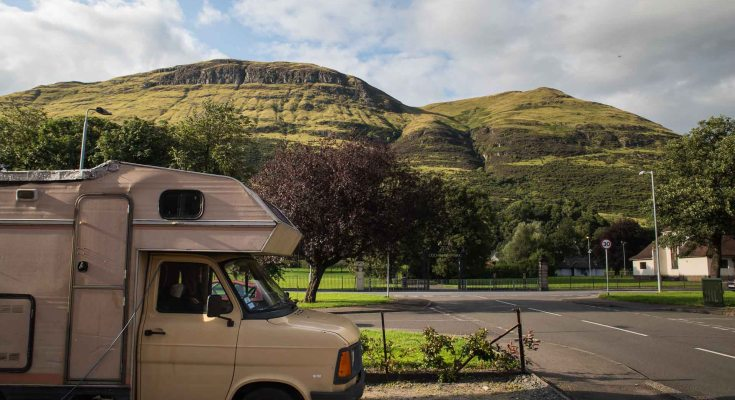 Camping-car à Alva