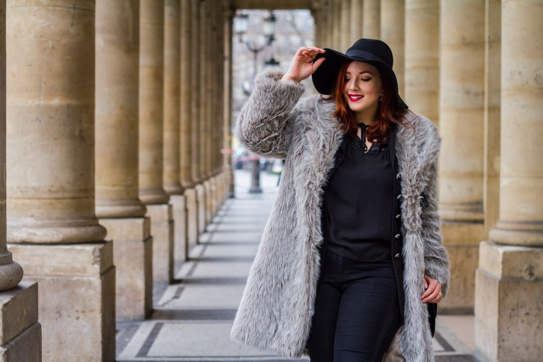 French Curves Faux Fur