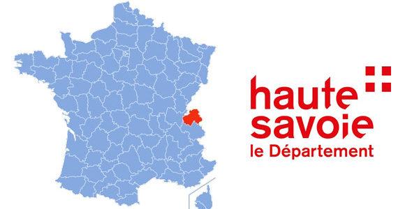 フランスのオット・サヴォア県の図