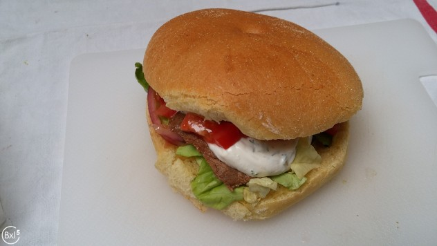 Sandwich Geant