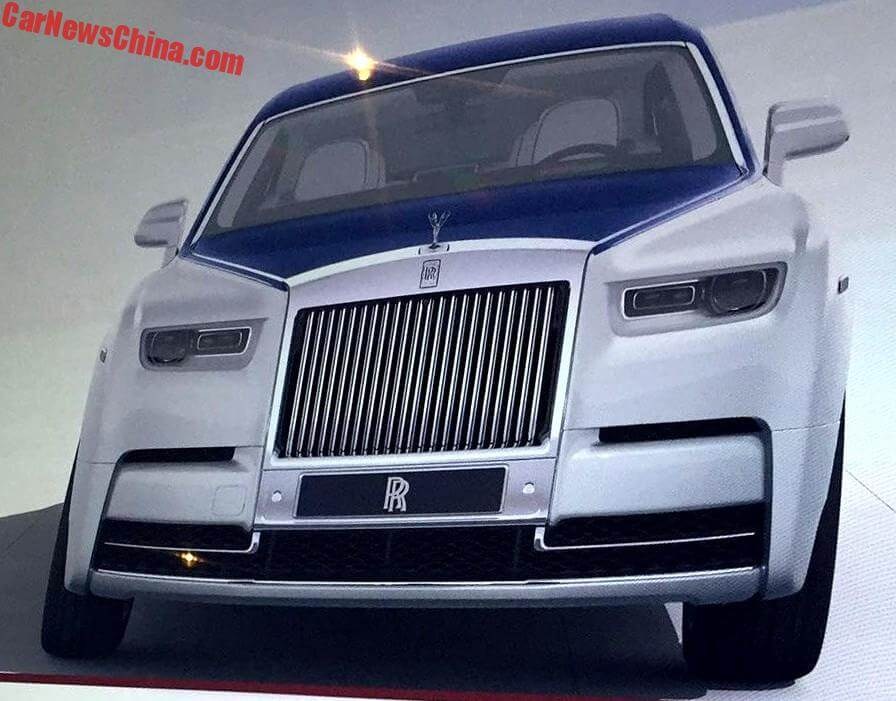new rolls royce 2018. unique rolls this is the 2018 rollsroyce phantom leaked in china from what appears to  be an online configurator the photos show front side and dashboard of  throughout new rolls royce