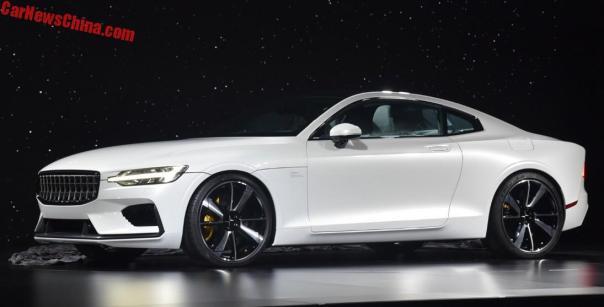 Volvo Bringt Neue Polestar Marke Mit Dem Concept Coupe Main Info