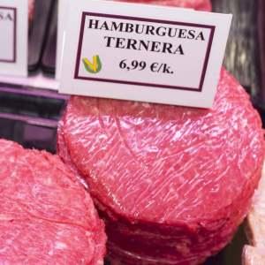 hamburguesa de ternera en carniceria de gijon
