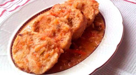 Receta de rollo de pollo con jamón