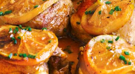 Receta de pollo a la naranja al horno