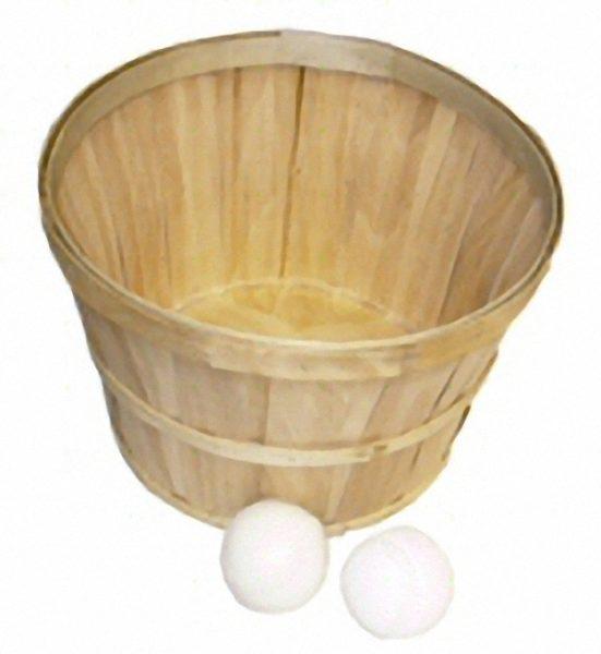 bushel basket toss baskets