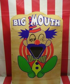 big mouth carnival game