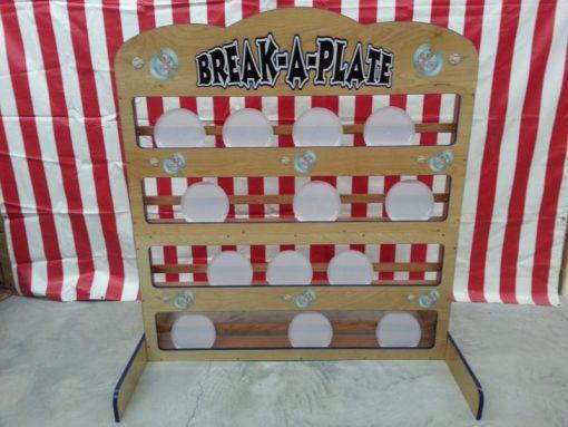 Break A Plate Carnival Game