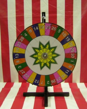 Number Carnival Game Wheel