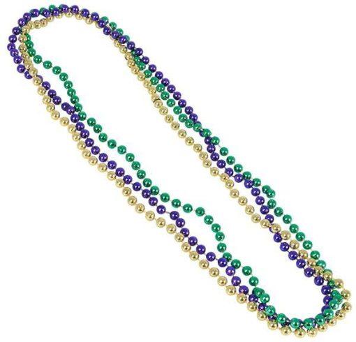 Mardi Gras Metallic Bead